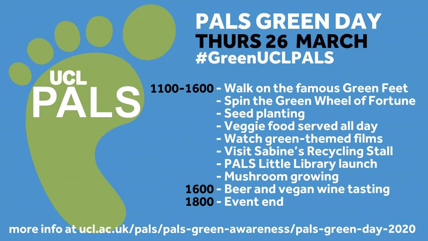PALS Green Day Schedule 2020