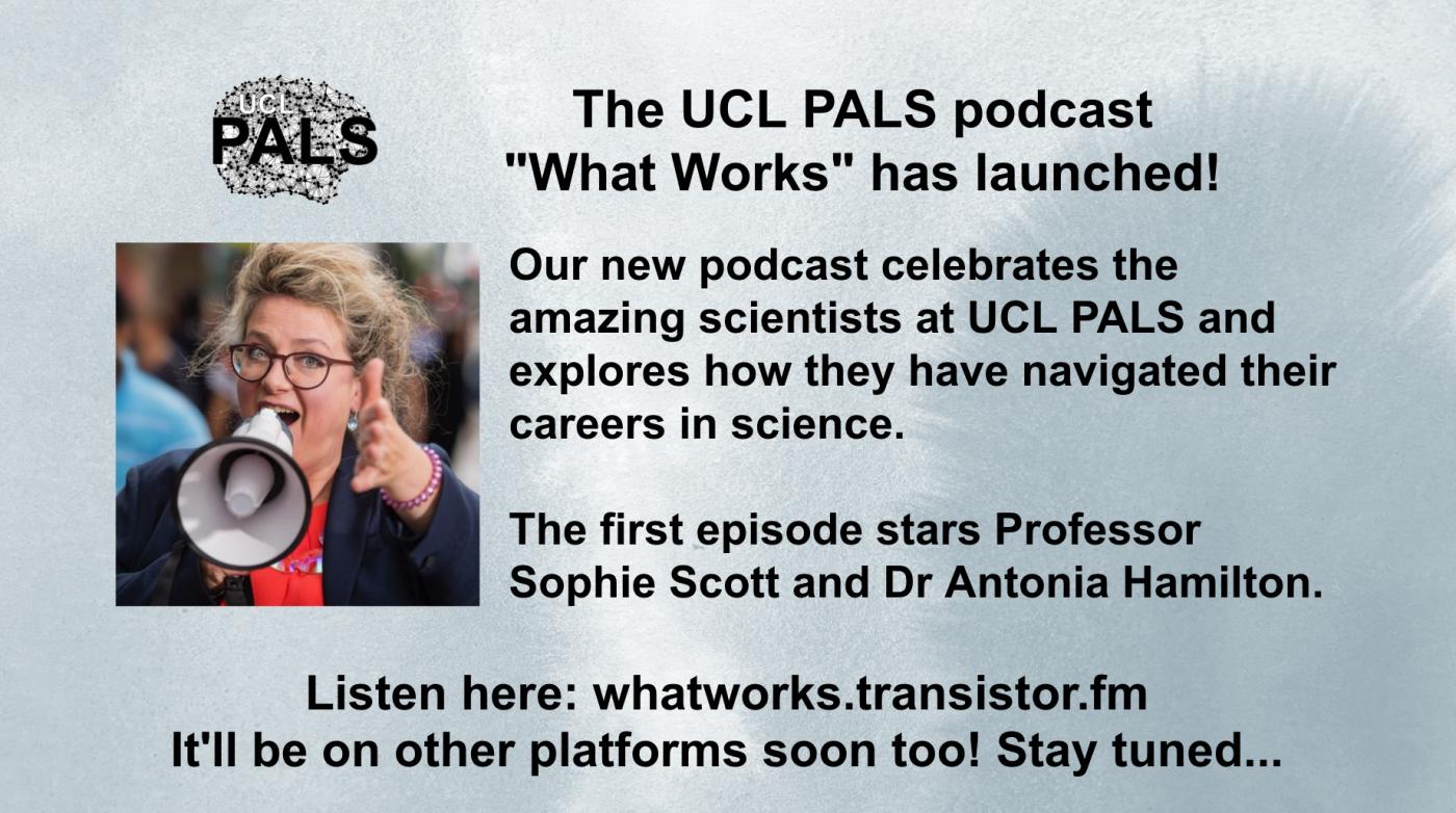 What works podcast Sophie Scott 2