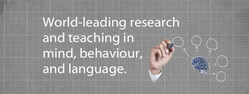 World-leading research and teaching in mind, behaviour and language