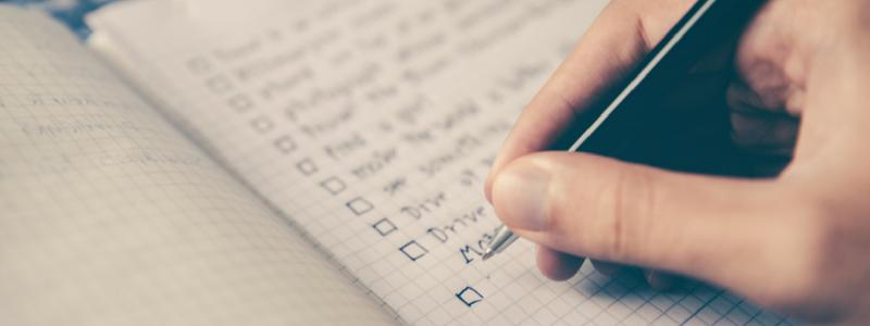 Decorative - checklists