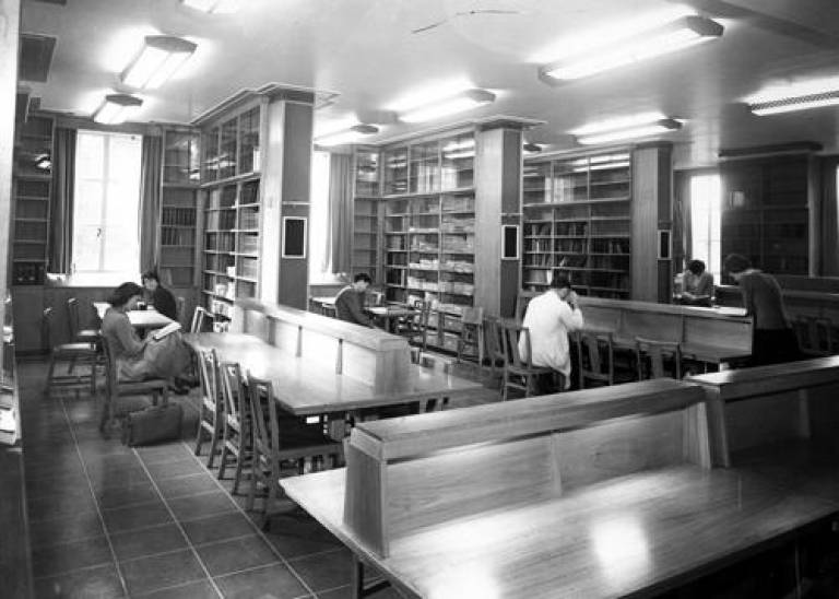 School of Pharmacy Library c1960