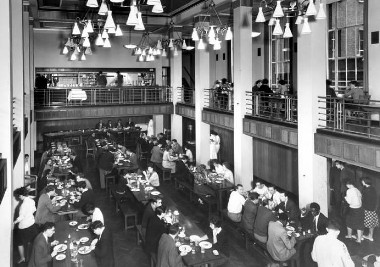 School of Pharmacy Refectory c1960