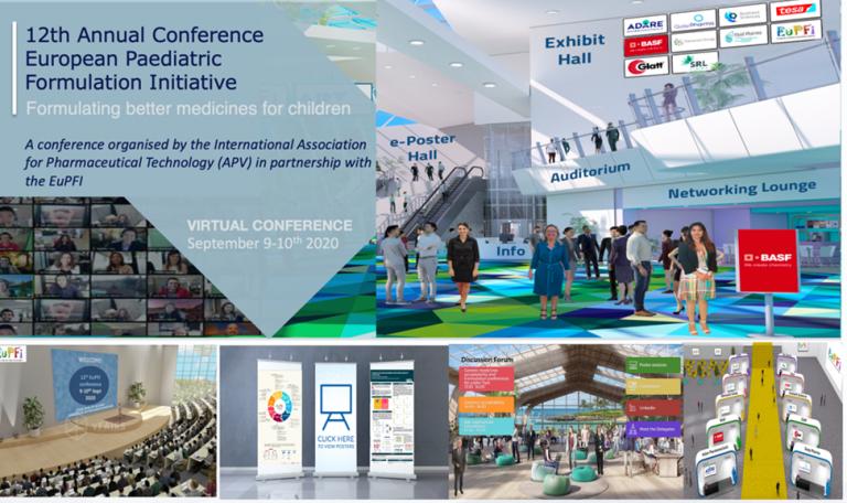 Graphic representation of the virtual EuPFI conference