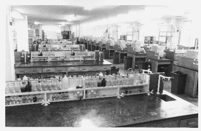 School of Pharmacy Lab First Floor c1960