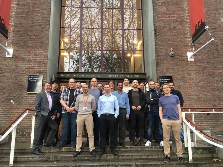 International Men's Day at the School of Pharmacy in November 2018
