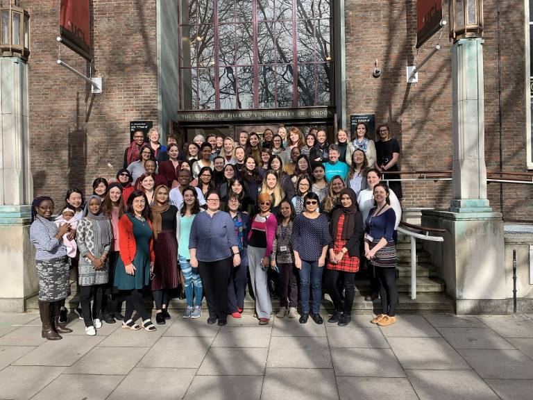 International Women's Day at the UCL School of Pharmacy in March 2019