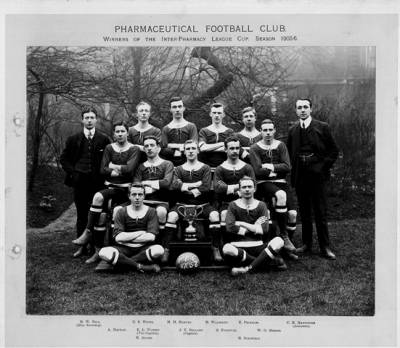 School of Pharmacy Football Team, 1906