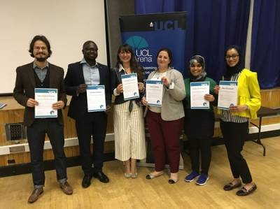 UCL Arena Fellow Awards Celebration 2017