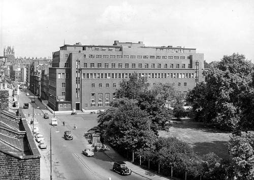 Brunswick Square London, c1960