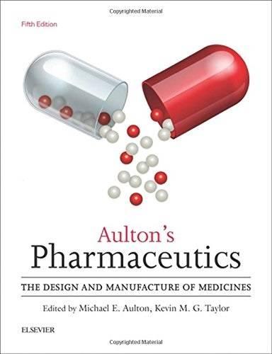 Aulton's Pharmaceutics cover