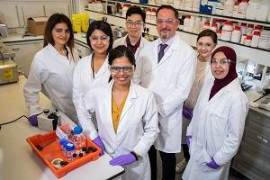 Professor Duncan Craig and his research group