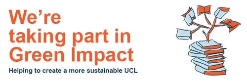 UCL Green Impact Scheme Orange Logo