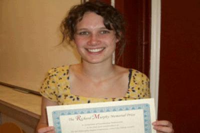 Winner Caroline Hodges