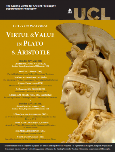 Virtue and Value Poster