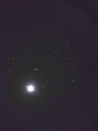 Venus and Pleiades 1