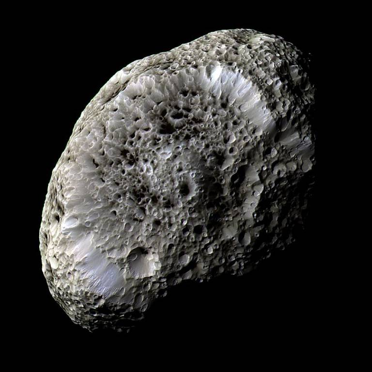 Hyperion. Credit: NASA