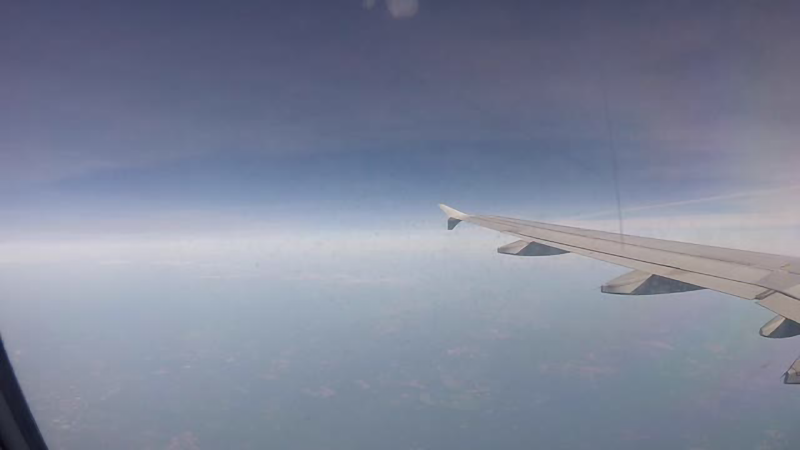 Plane in sky Summer travels Part 1 teaser