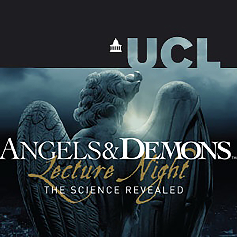 Angels and Demons podcast artwork