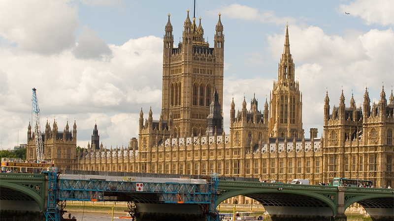 Politics and Society - Houses of Parliament and Bridge