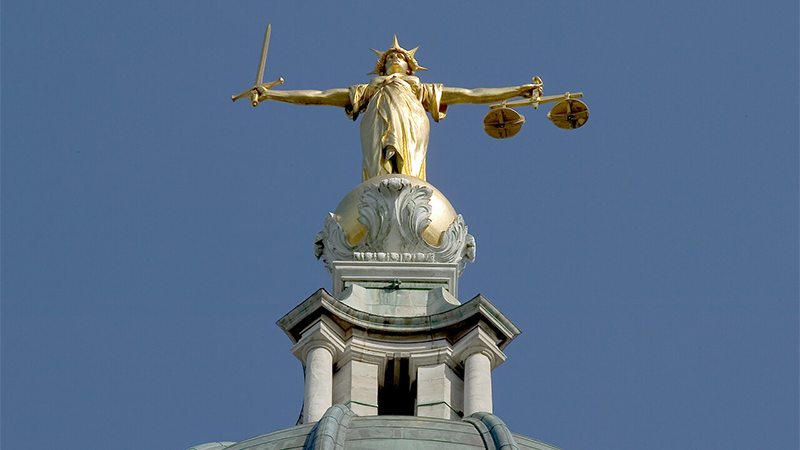 Justice and Equality - Old Bailey Statue of Justice