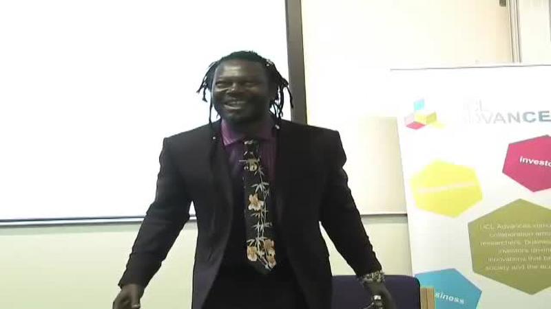 Levi Roots - Entrepreneurship Guest Lecture