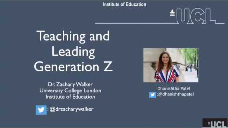 Lunch Hour Lecture: Teaching and Leading Generation Z