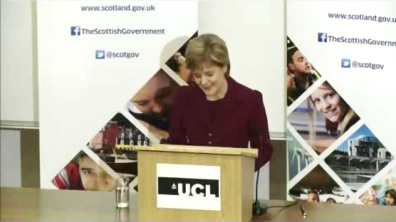 First Minister of Scotland - Nicola Sturgeon
