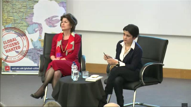 UCL Global Citizenship Lecture 2015: Shami Chakrabarti on Liberty
