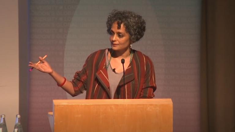Lancet Lecture 2014 - Author Arundhati Roy - Feature