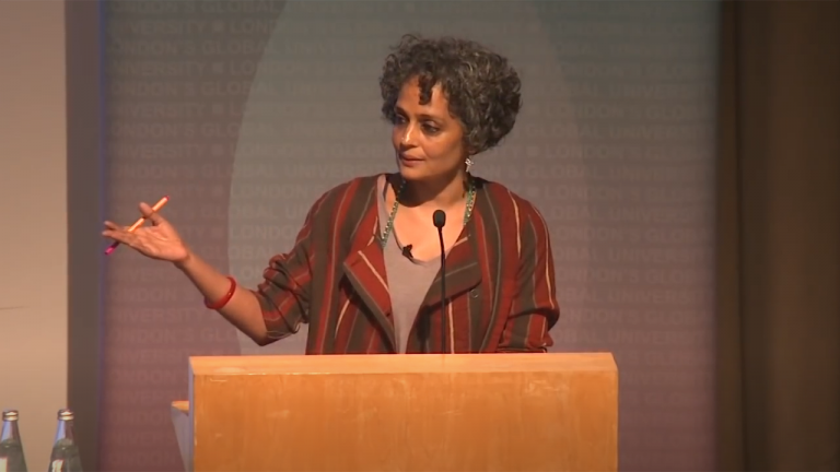 Lancet Lecture 2014 - Author Arundhati Roy - Feature