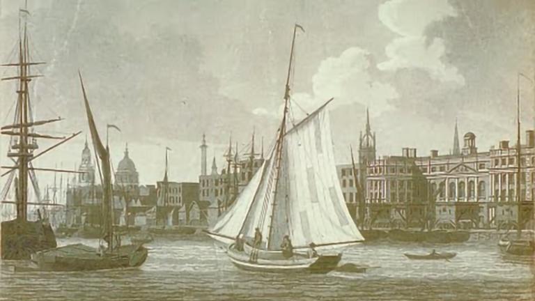 Britain's Legacy of Slavery - Tall sail ship