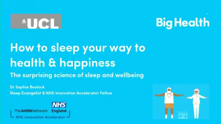 How to Sleep Your Way to Health & Happiness