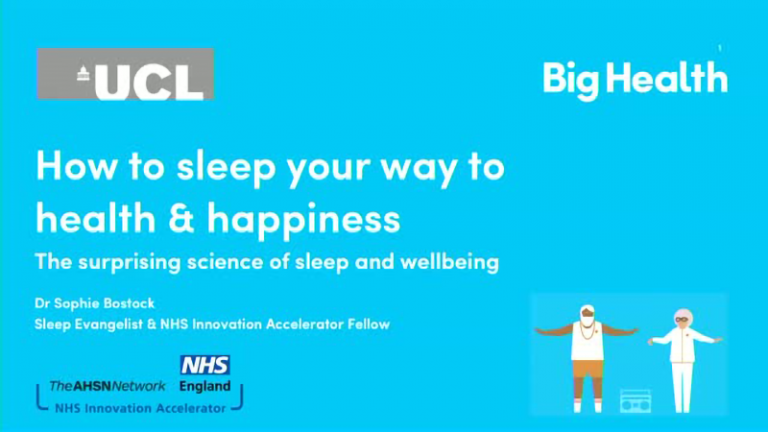 How to Sleep Your Way to Health & Happiness