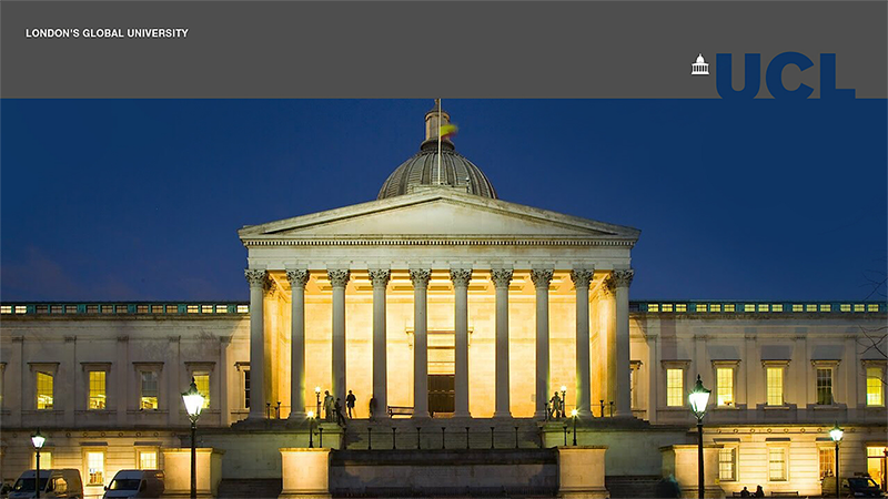 UCL Town Hall Teaser - Main Building at Nighttime