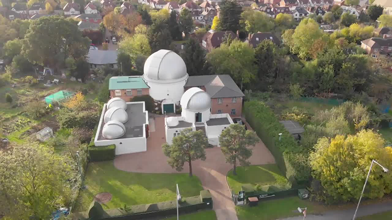 UCL Observatory and Perren Telescope Teaser