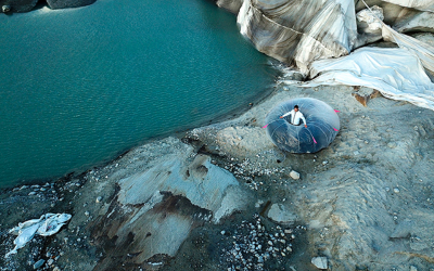 Inflatable Alpine Tent Suit