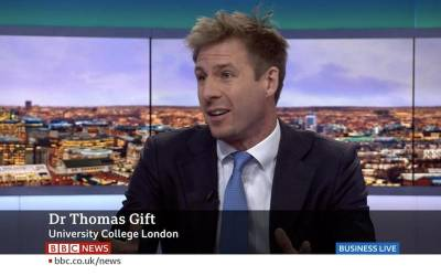 Thomas Gift on BBC
