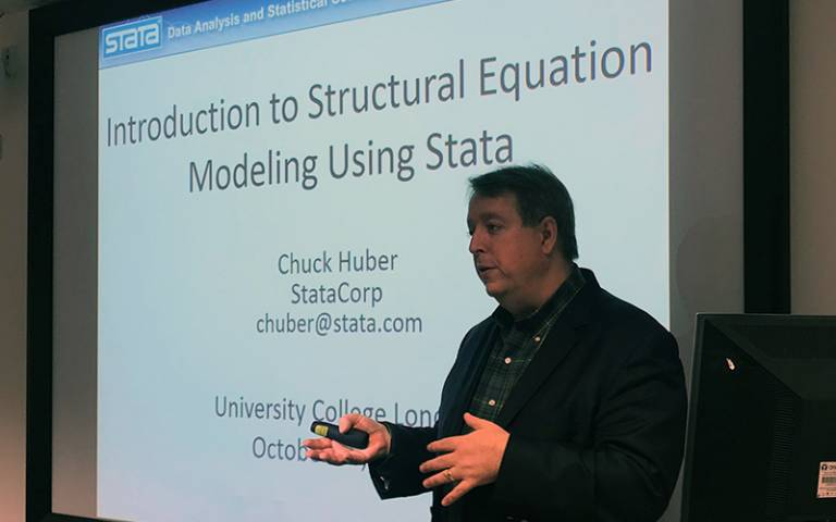 Masterclass: Stata with Chuck Huber