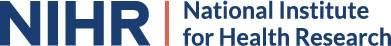 NIHR Logo 14 March 2019