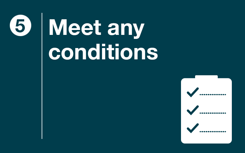 Meet any Conditions