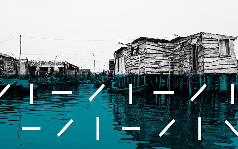 houses on water