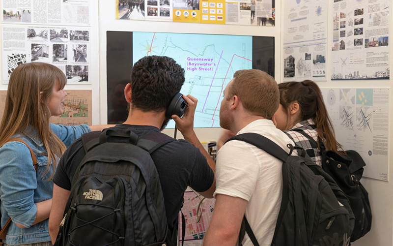 students and maps
