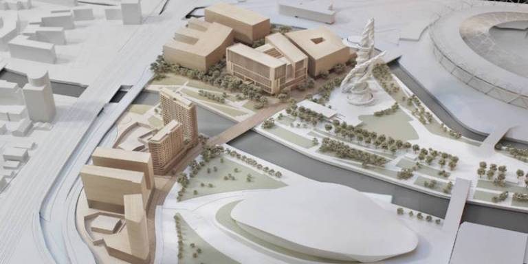 UCL East buildings project