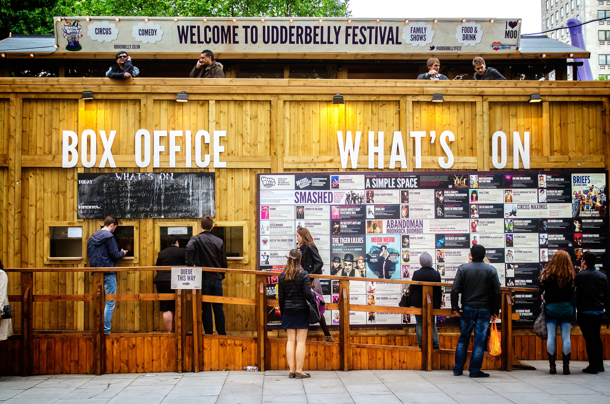 Udderbelly box office