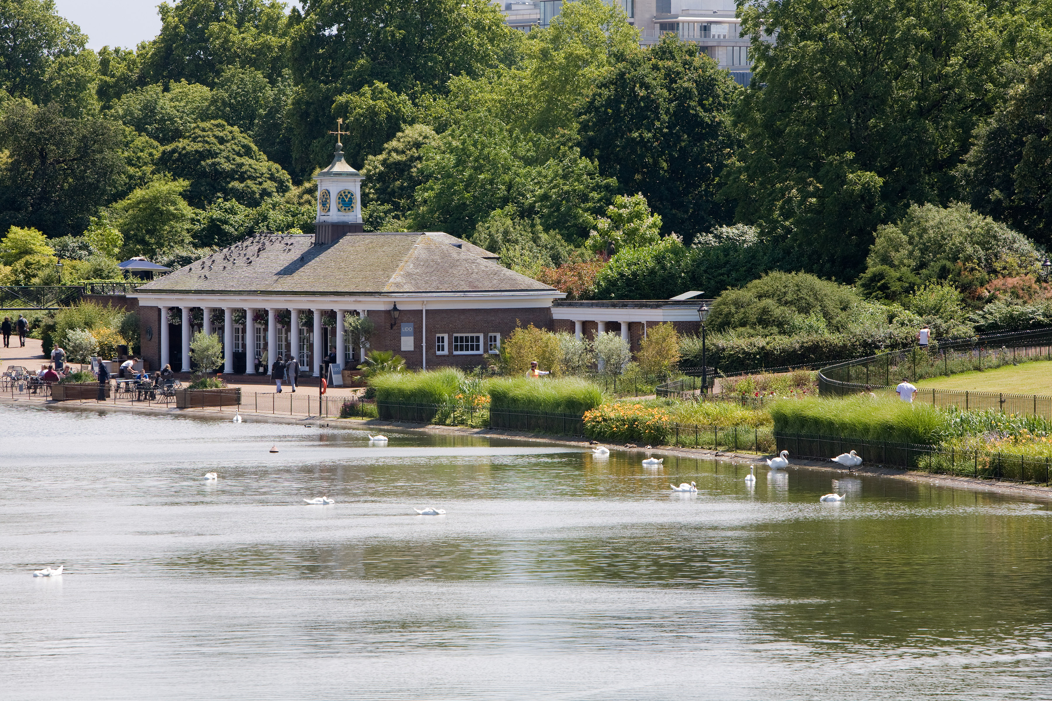 Serpentine Lido - Hyde Park