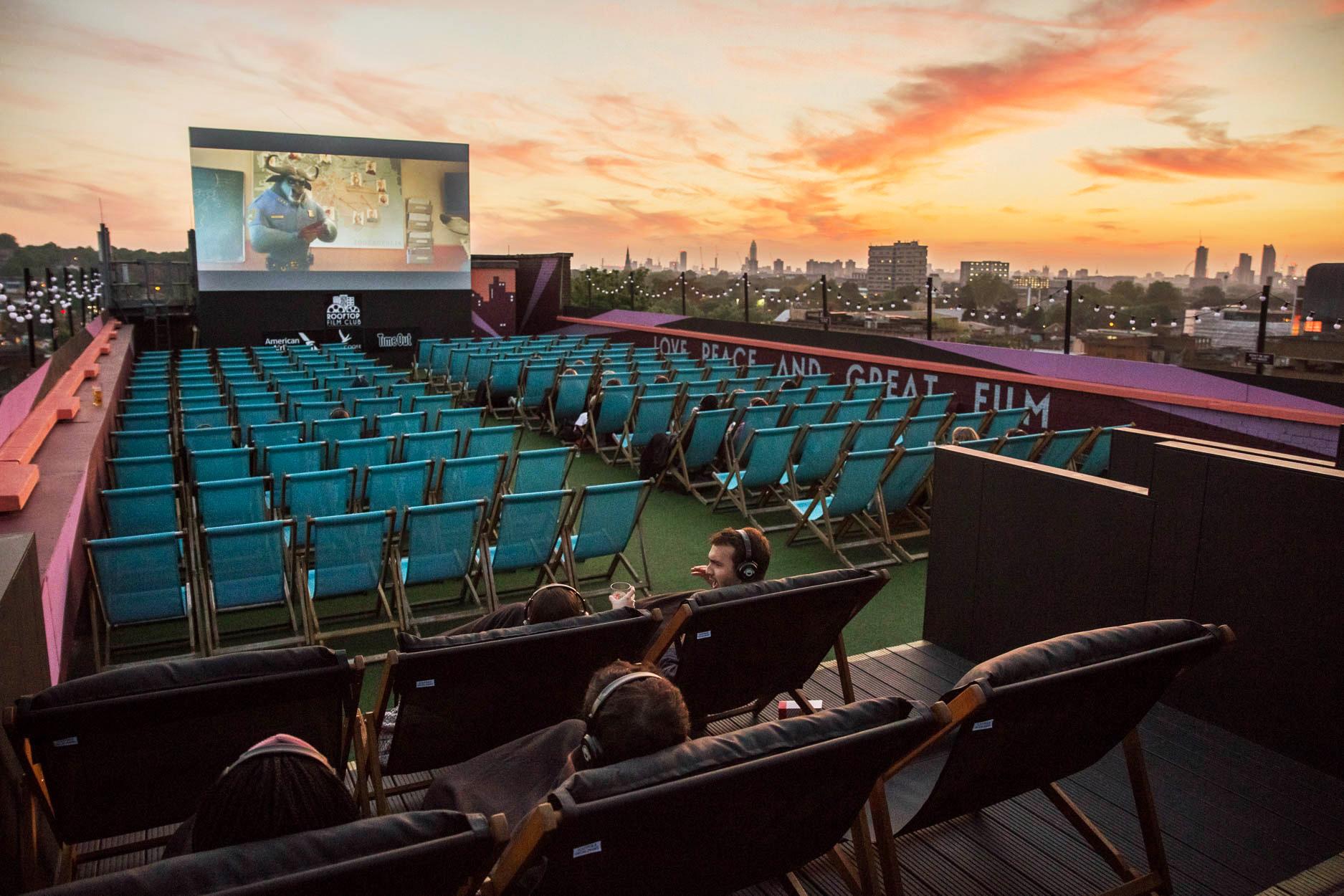 Roof Top Cinema London
