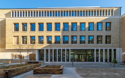 Courtyard of the UCL Student Centre.