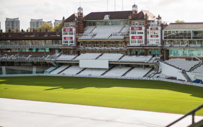 The Oval cricket ground.