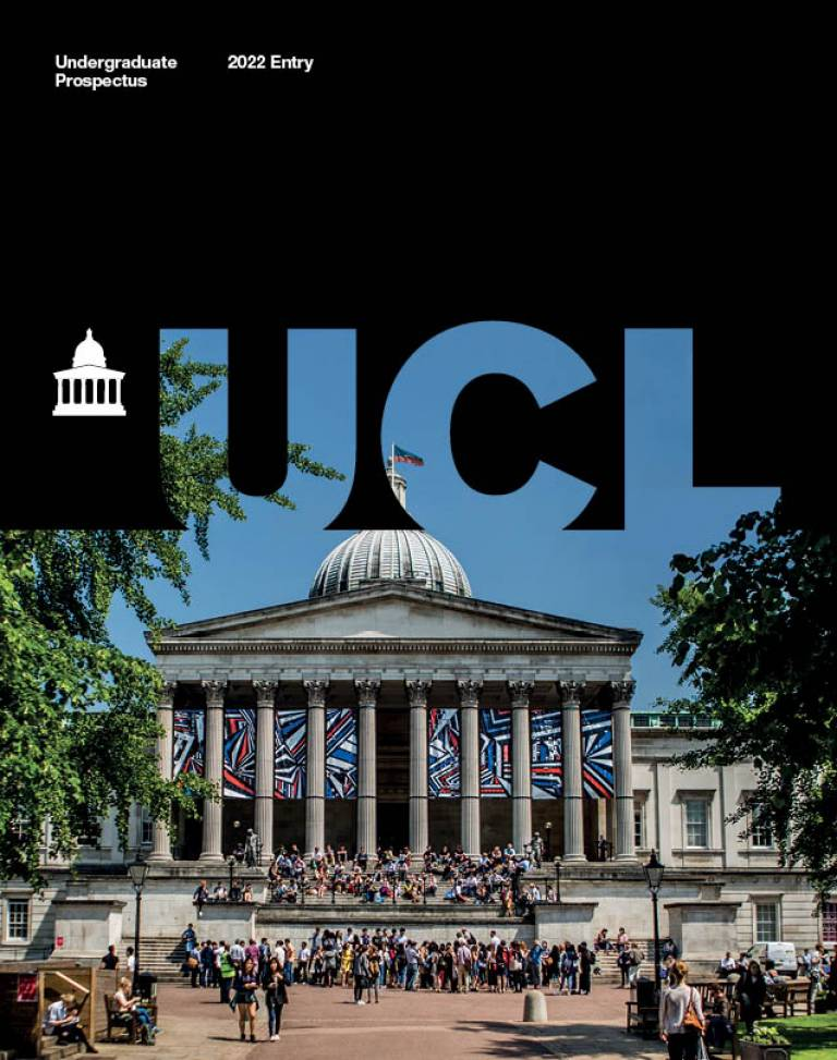 UCL Undergraduate Prospectus (2022 entry)