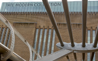 Front of the Tate Modern Museum.